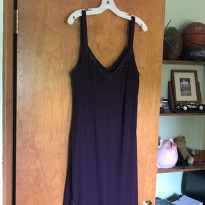 Mother of the Bride Dress 18W Plum Color